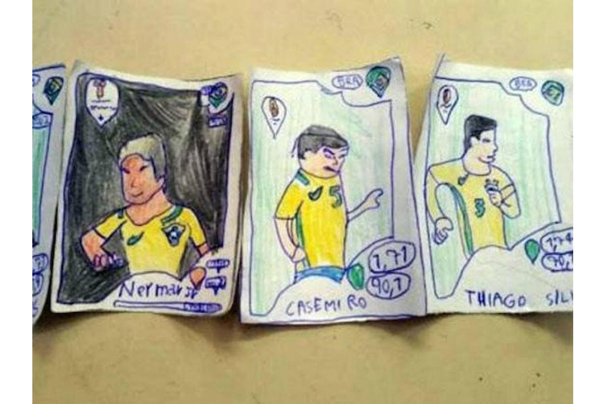 Pedro, figlio di persone povere, a 8 anni disegna le figurine Panini e viene premiato dalla casa editrice.