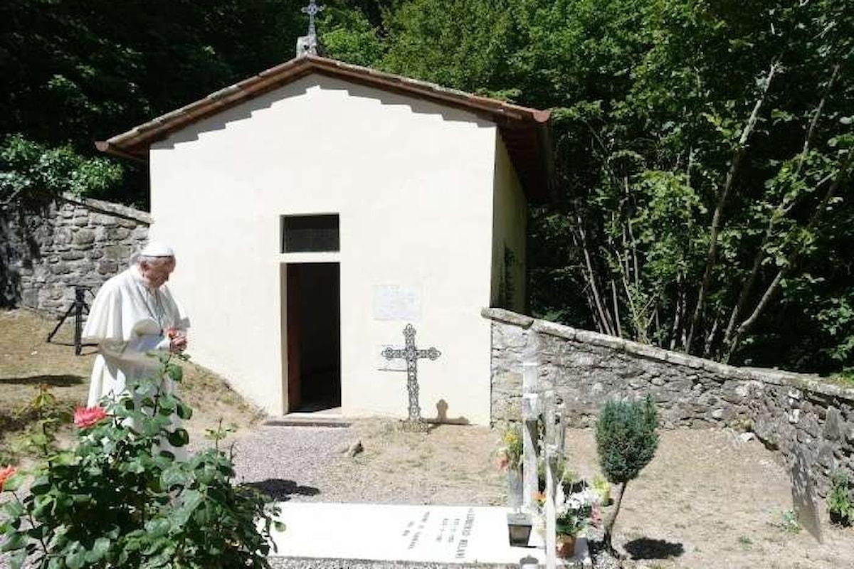 Papa Francesco in pellegrinaggio a Bozzolo e Barbiana rende omaggio a Don Mazzolari e a Don Milani