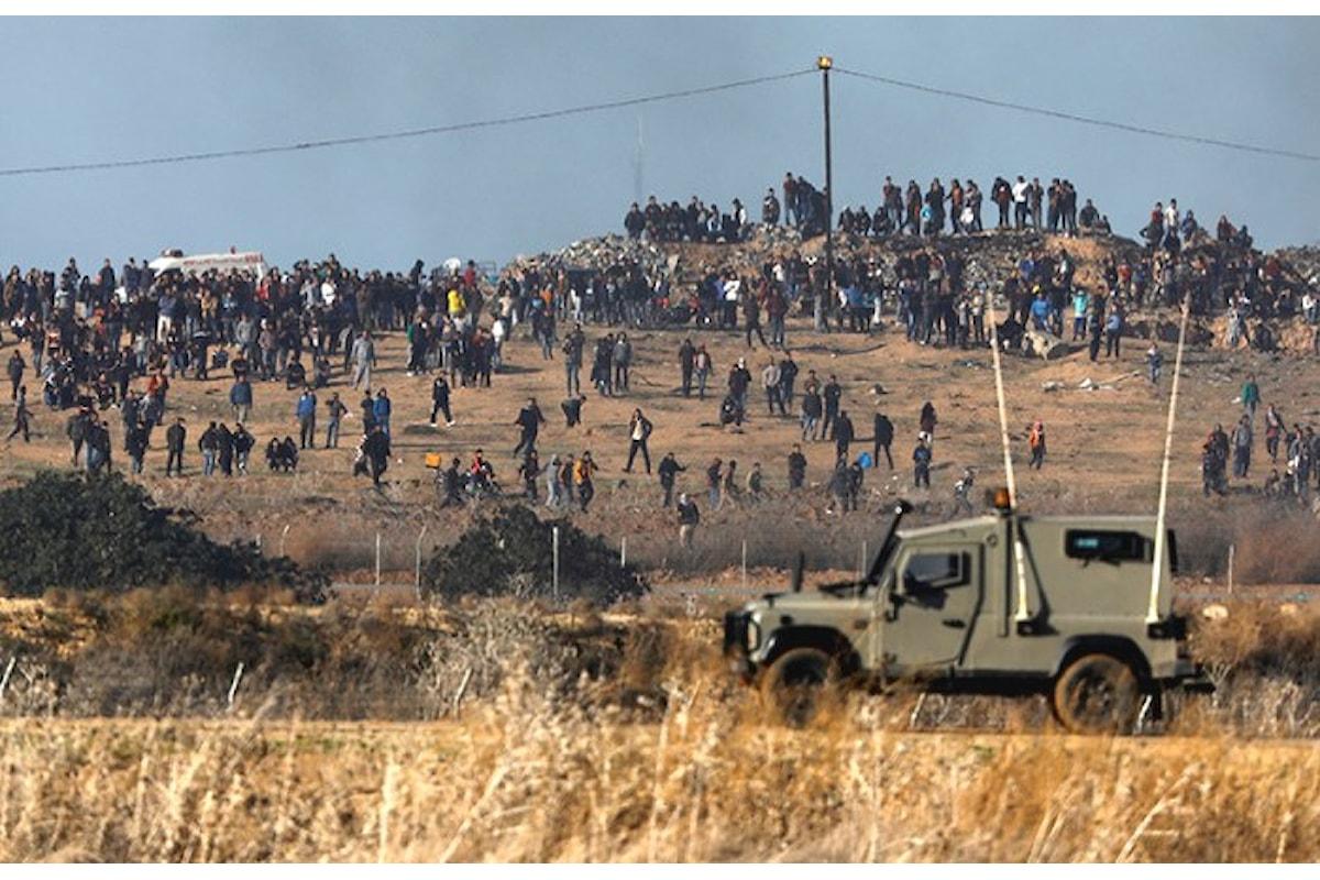 Oltre alle centinaia di feriti, sono 4 i palestinesi rimasti uccisi negli scontri seguiti alla scelta di Trump