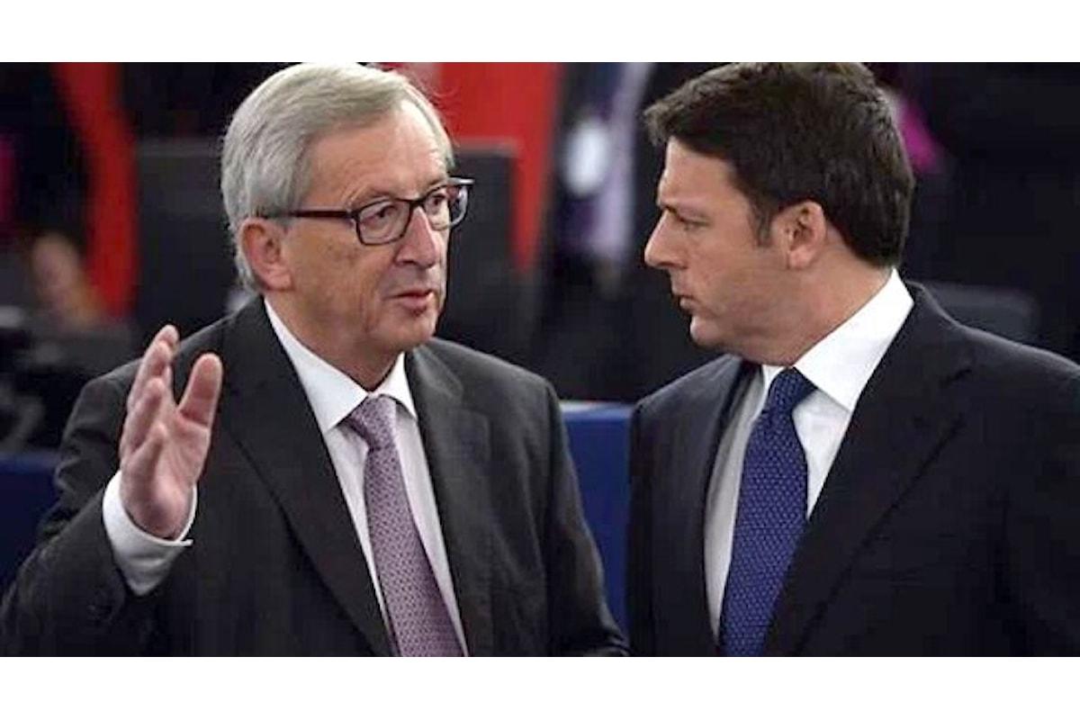 Scintille tra Juncker e Renzi sulla Legge di Bilancio 2017, bocciata di nuovo anche dall'UPB