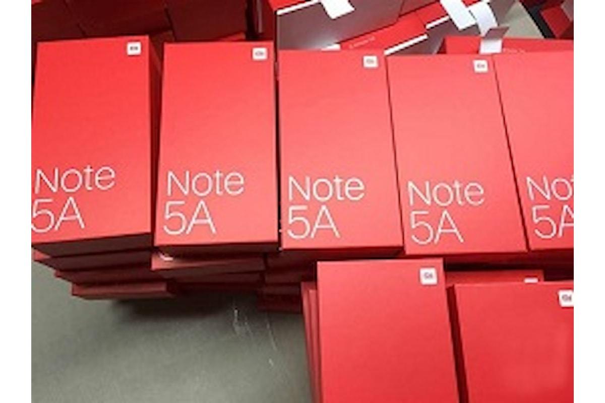 Xiaomi: Confermati Xiaomi Redmi Note 5 e 5A