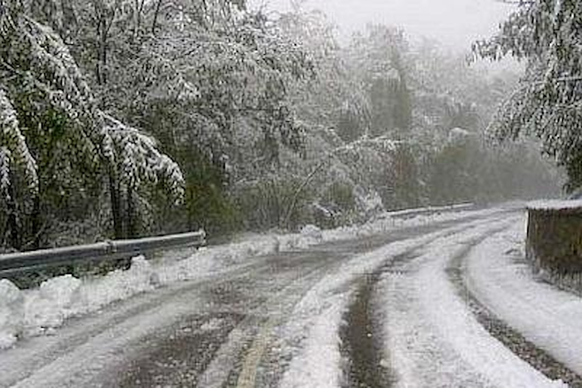 Allerta meteo Campania venerdì 23 marzo: neve al di sotto dei 300 metri