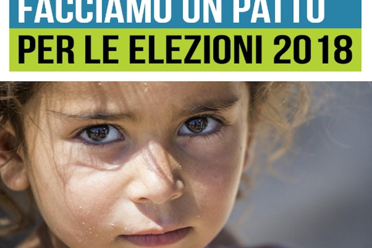 Facciamo un patto? Unicef Italia chiede ai candidati alle politiche soluzioni concrete per i bambini italiani che vivono in povertà assoluta