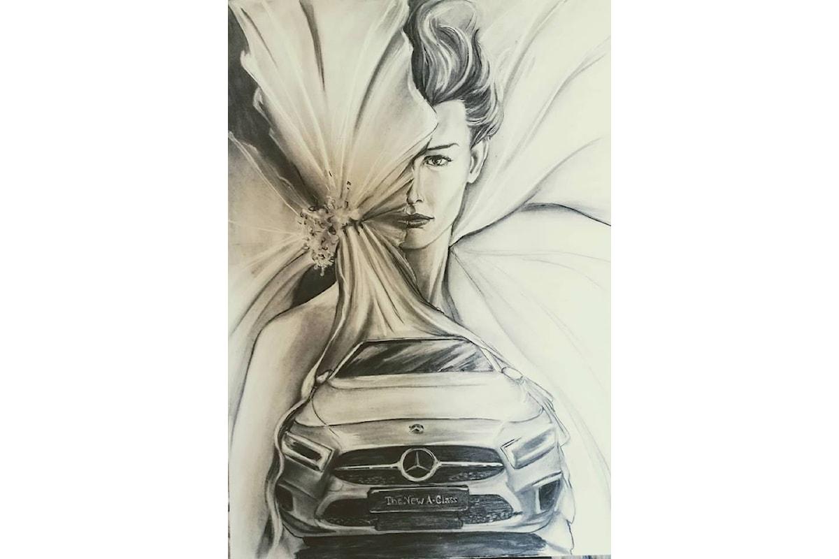 A FIRENZE ARTE E TECNOLOGIA: la nuova Classe A della GMG Mercedes e l'EnoArte di Elisabetta Rogai