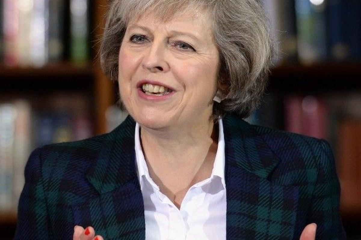 Theresa May vince la prima manche nella corsa alla successione di David Cameron