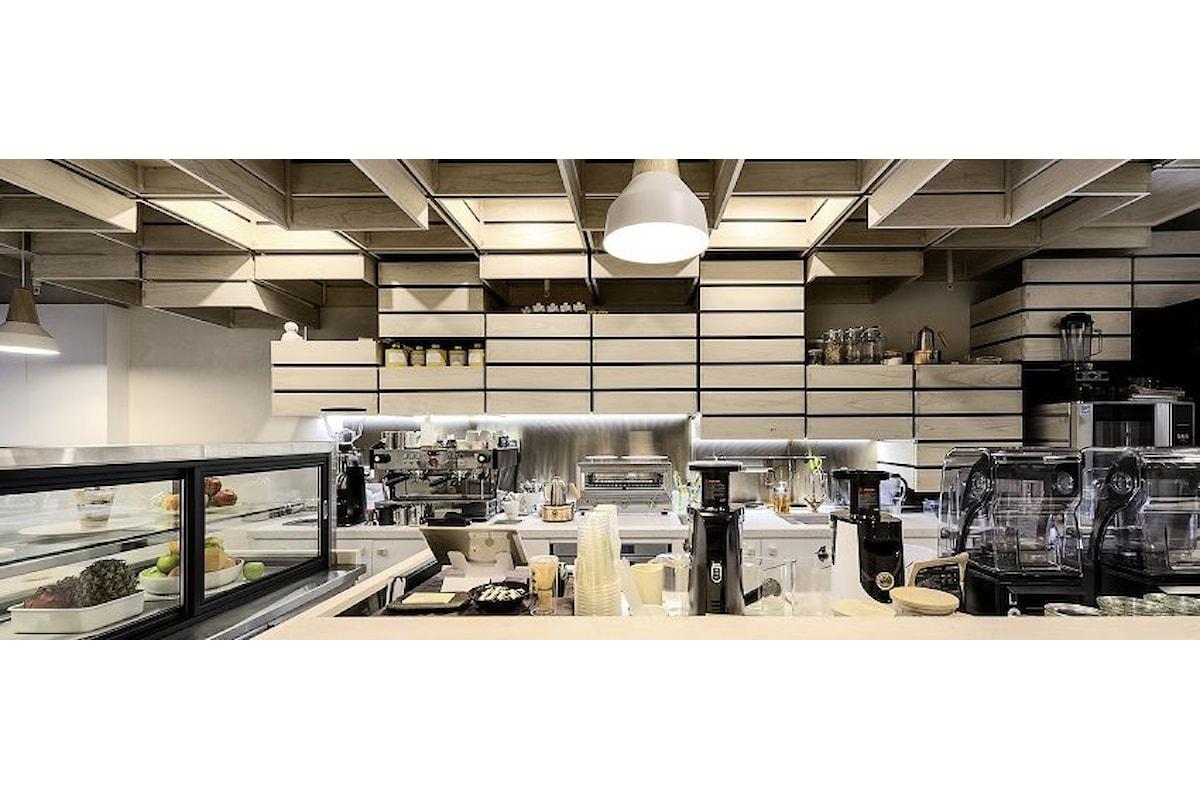Acero americano per la nuova caffetteria di Melbourne