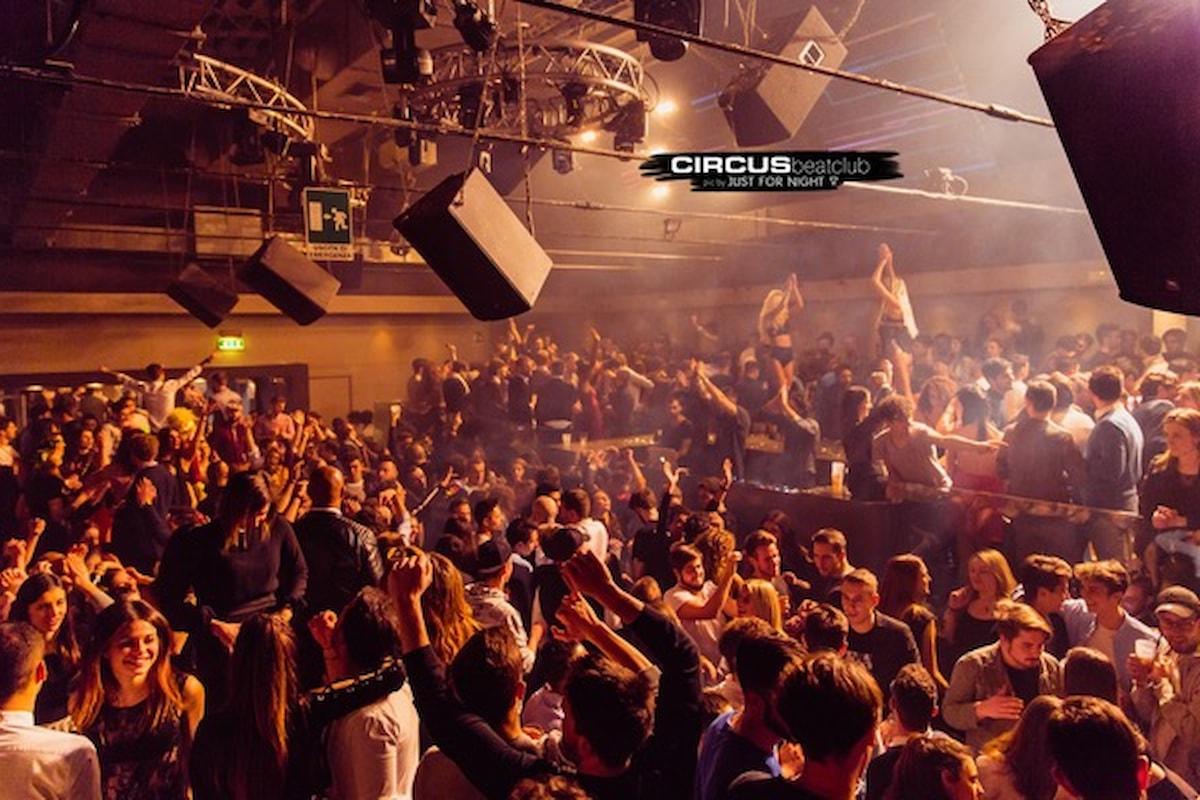 Circus beatclub - Brescia: 22/02 Rehab con Shablo, 23/02 Antonio Viceversa / 90 Special, 24/2 Circus Saturday