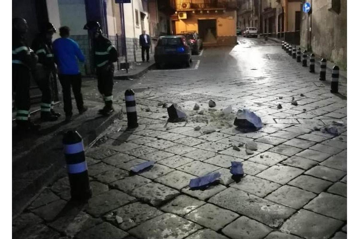 La scorsa notte forte scossa di terremoto di magnitudo 4.8 in provincia di Catania