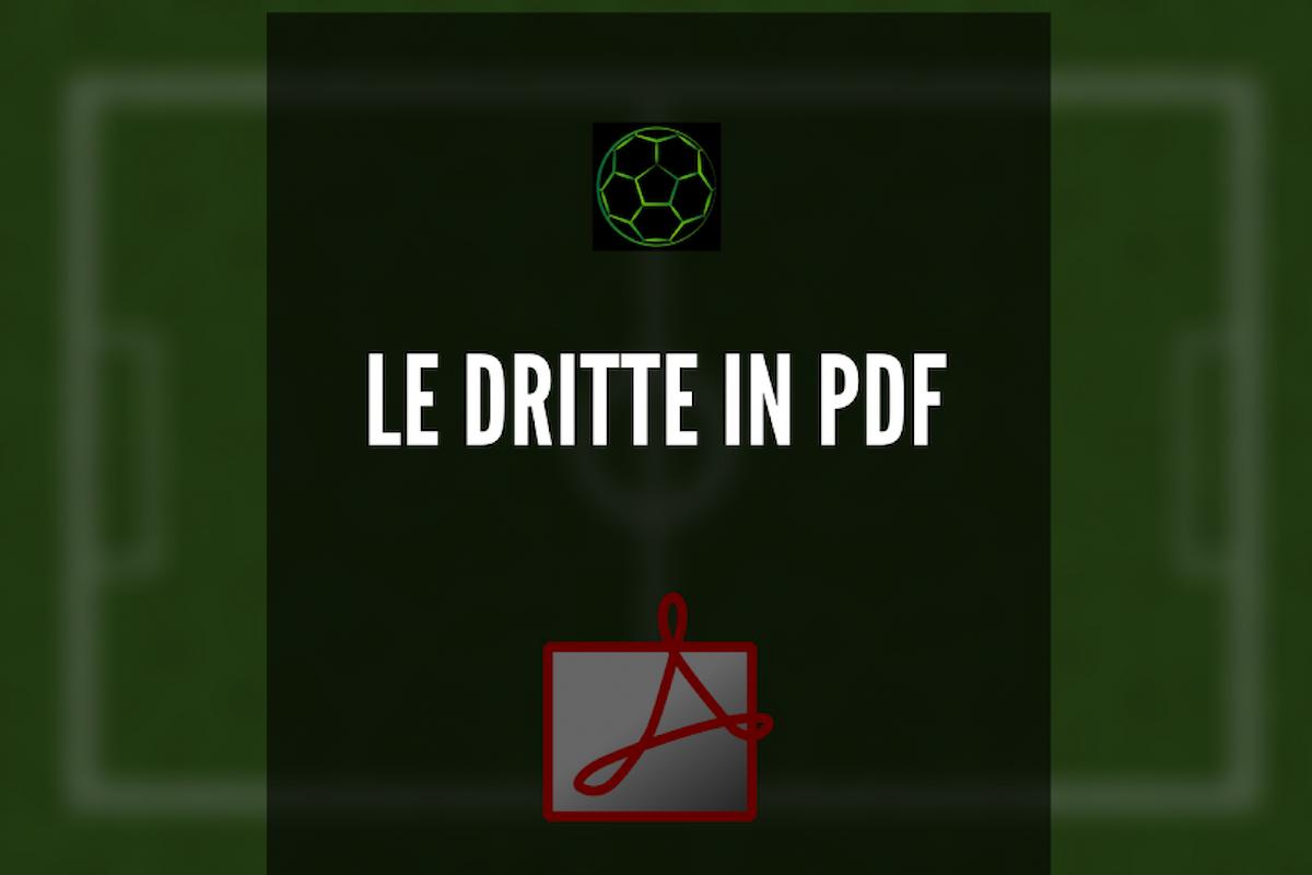 Scarica le dritte in PDF della Serie A!