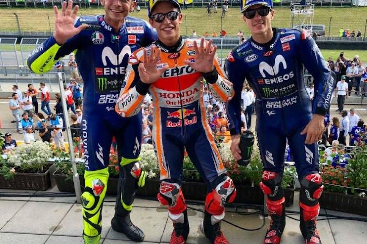 MotoGP, Marquez centra in Germania la nona vittoria