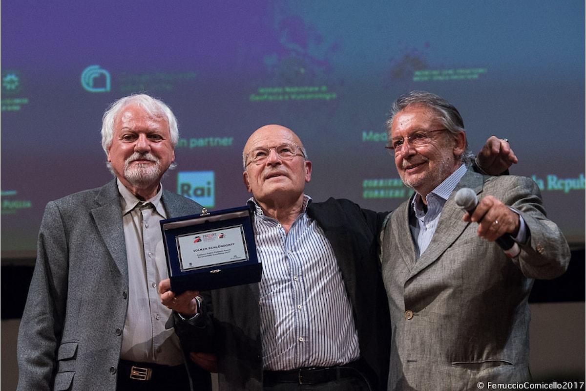 Al Bif&st di Bari premiati i primi film italiani. Al regista tedesco Schloendorff va il Premio Fellini
