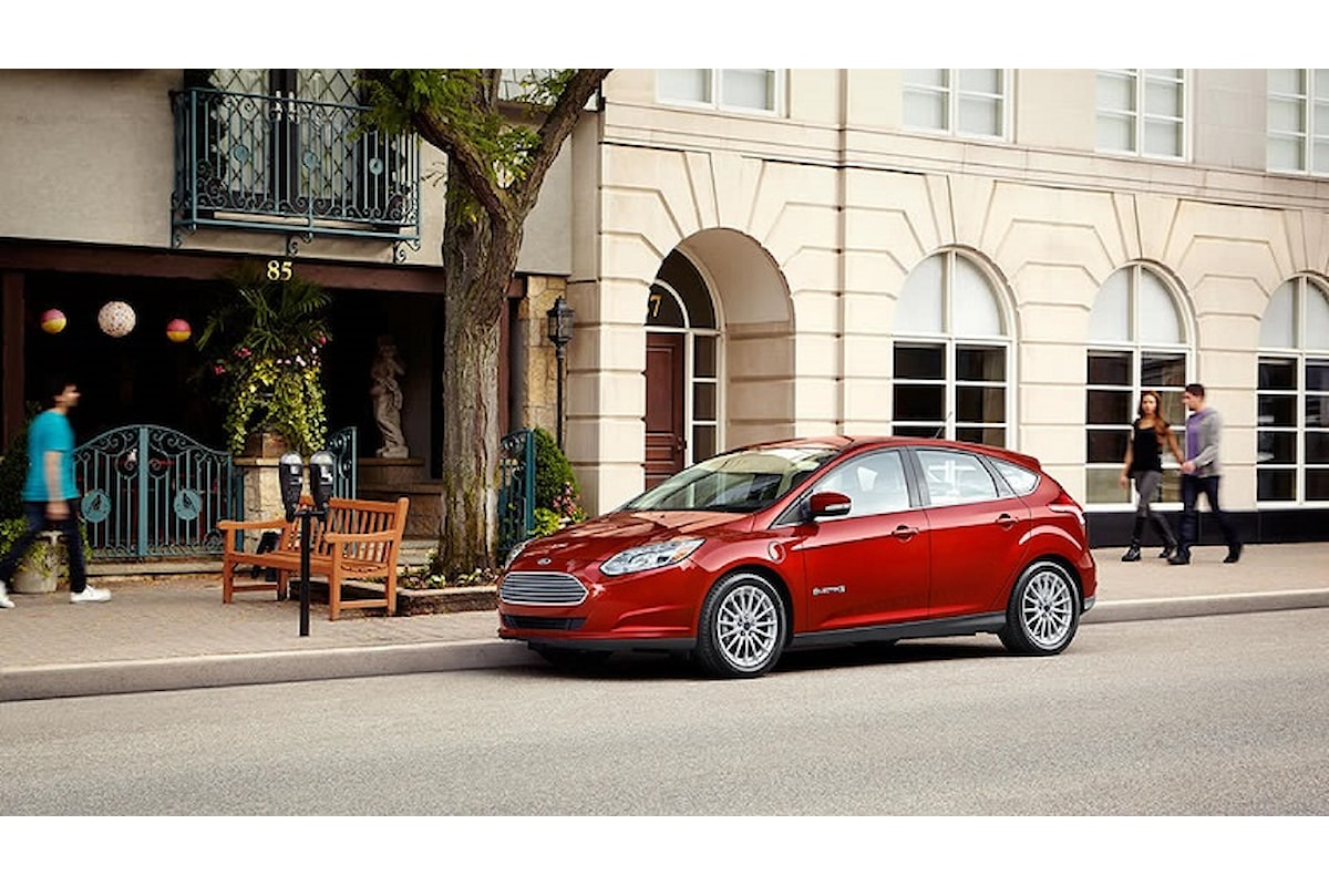 Ford e la nuova Focus elettrica...