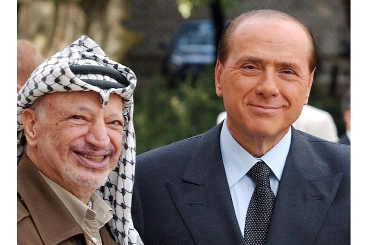 Arafat fu pagato da Berlusconi per testimoniare il falso nel processo sui finanziamenti al PSI di Bettino Craxi