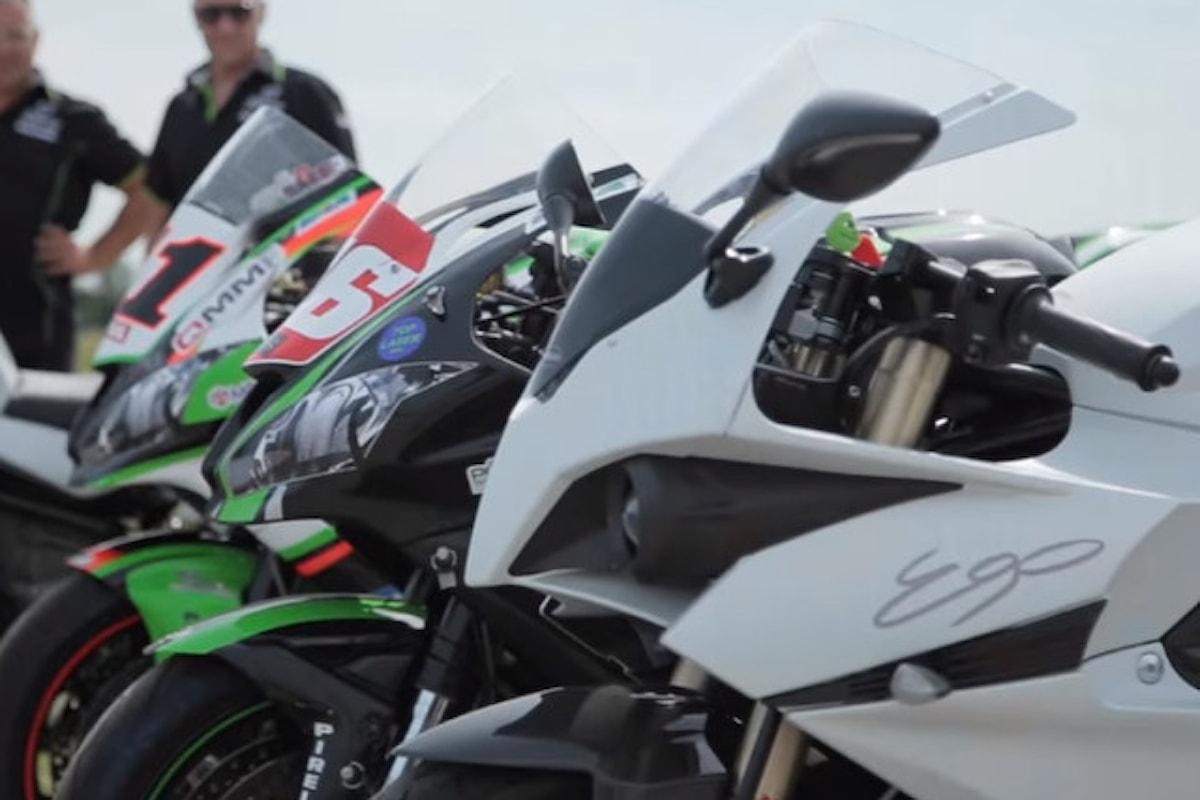 Energica Ego in una sfida di accelerazione contro Kawasaki ZX-10R e Lamborghini Gallardo