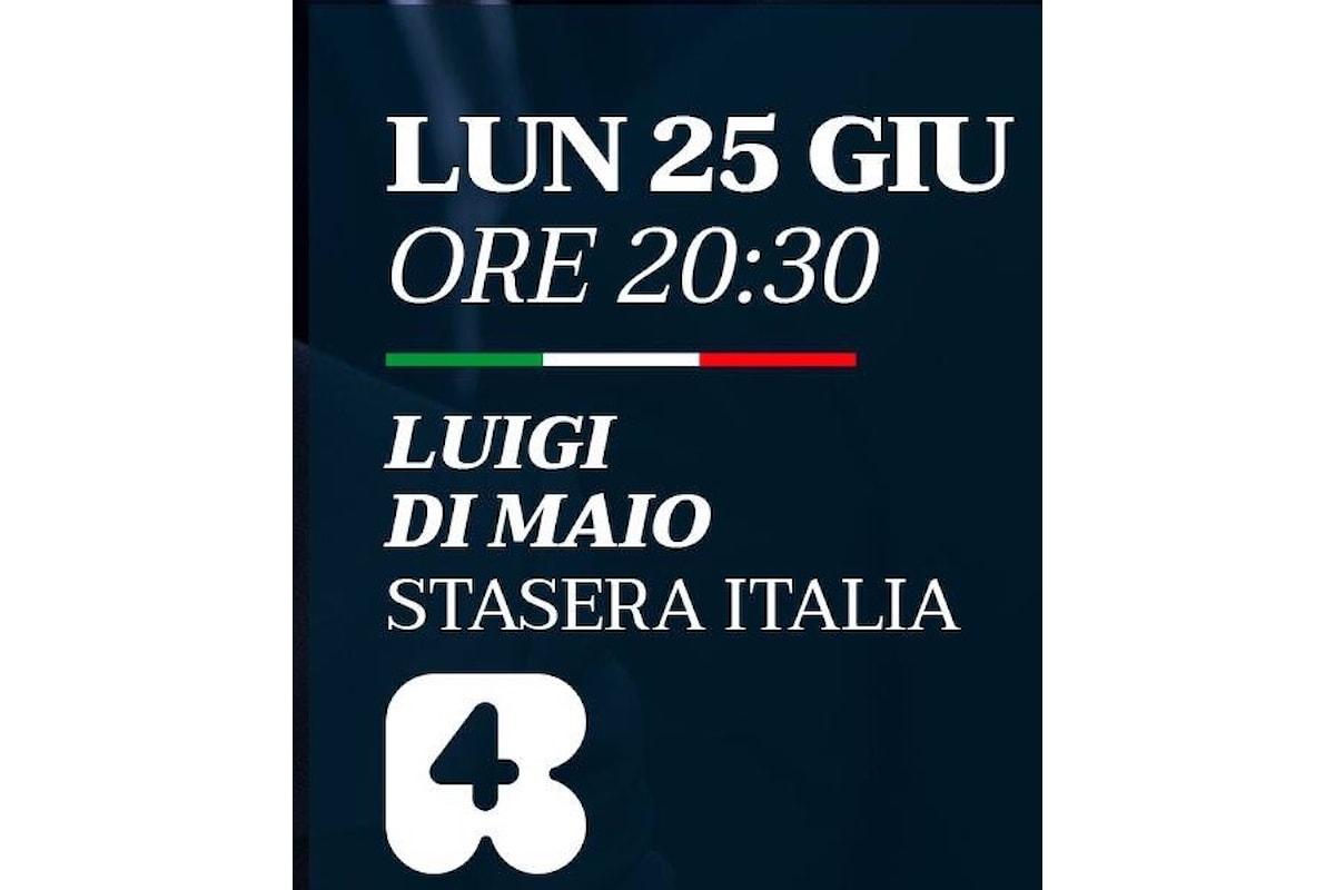 Luigi Di Maio, M5S, ai sindaci neoeletti alle amministartive 2018