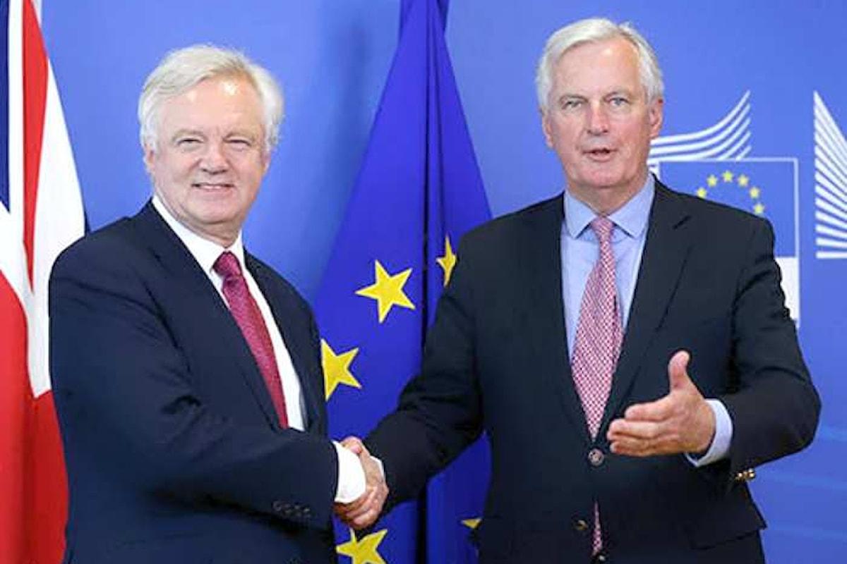 Iniziano a Bruxelles le prime trattative sulla Brexit