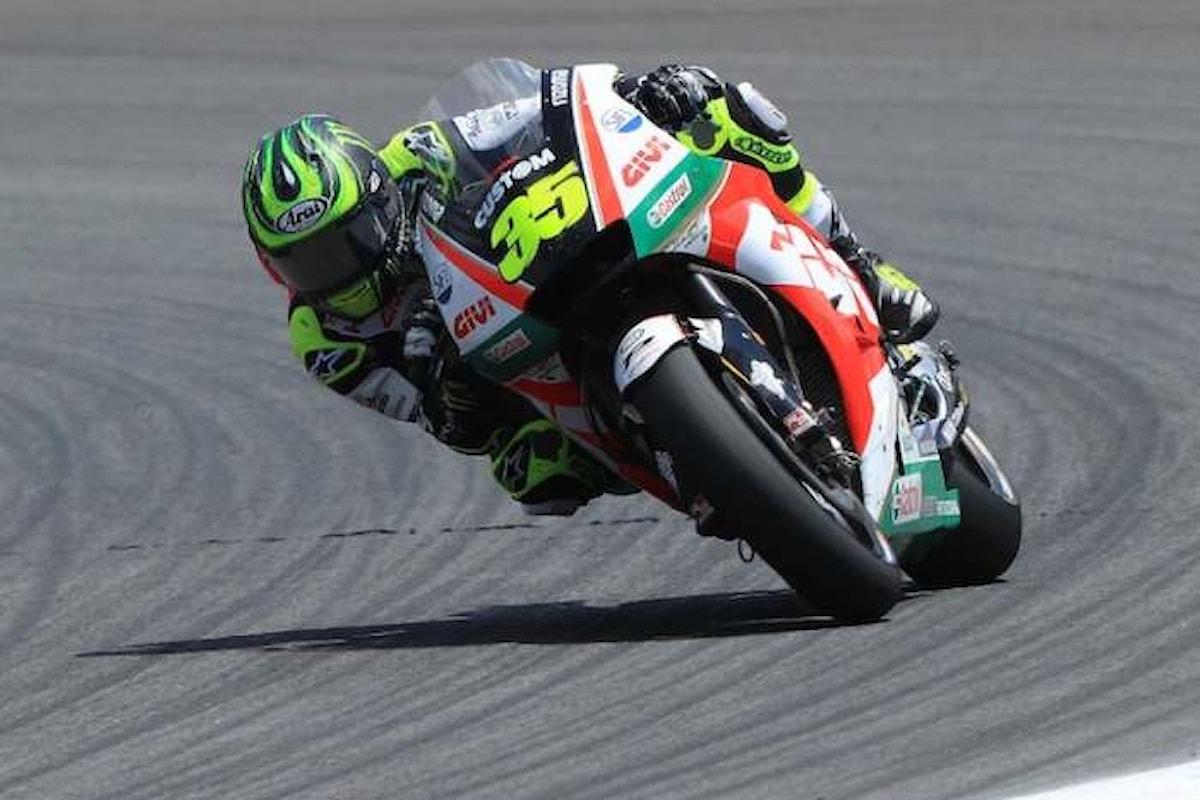MotoGP 2018, a Jerez è Cal Crutchlow a partire dalla pole