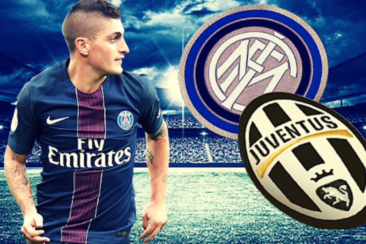 Verratti pronto per Juventus o Inter. Come giocherebbero le due squadre con lui in campo?
