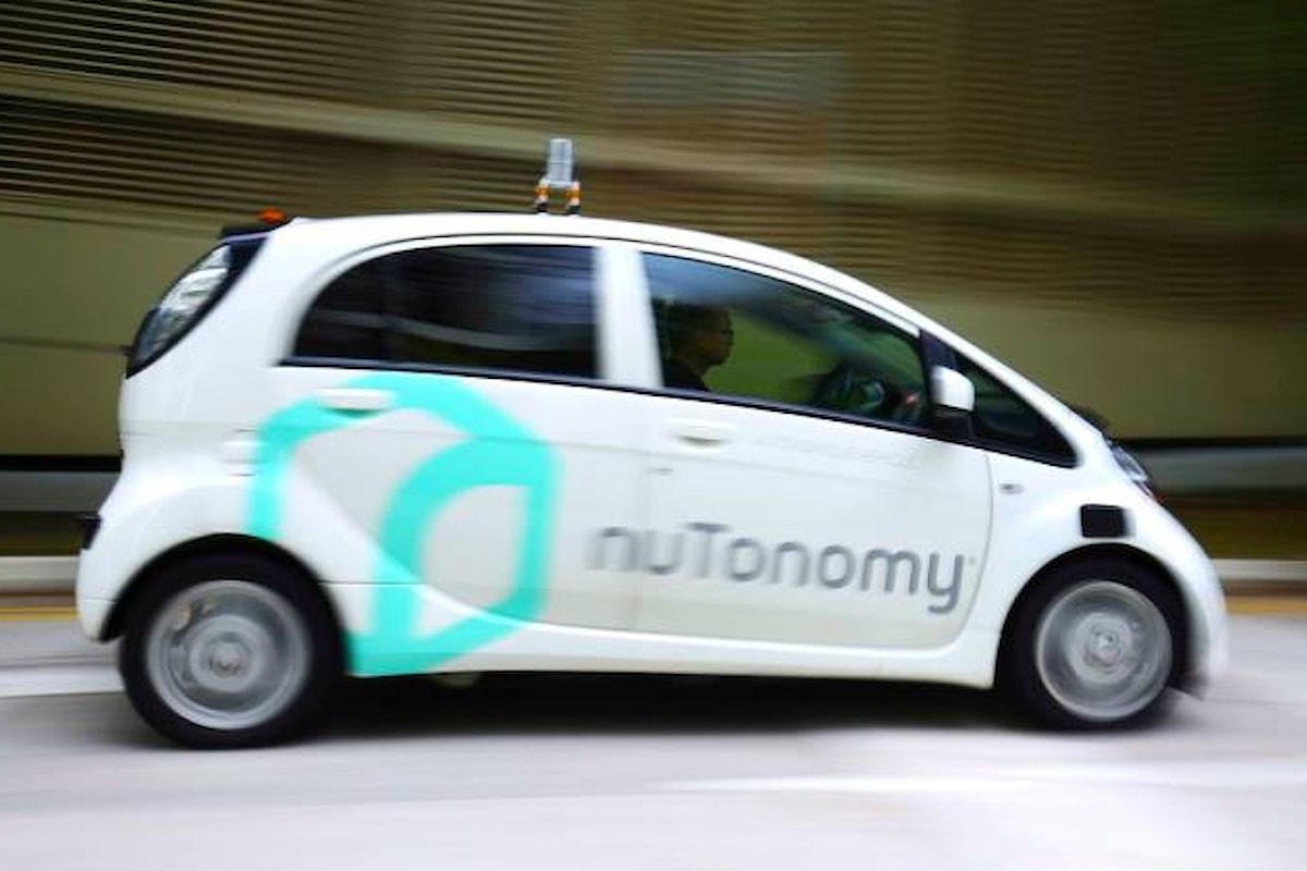 A Singapore il primo servizio al mondo di taxi senza autista