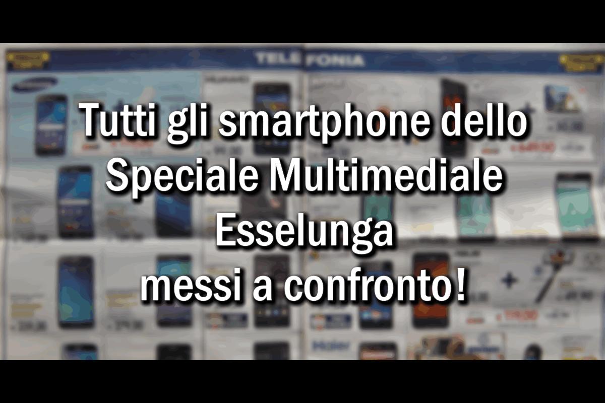 Recensione degli smartphone disponibili fino a Natale in Esselunga