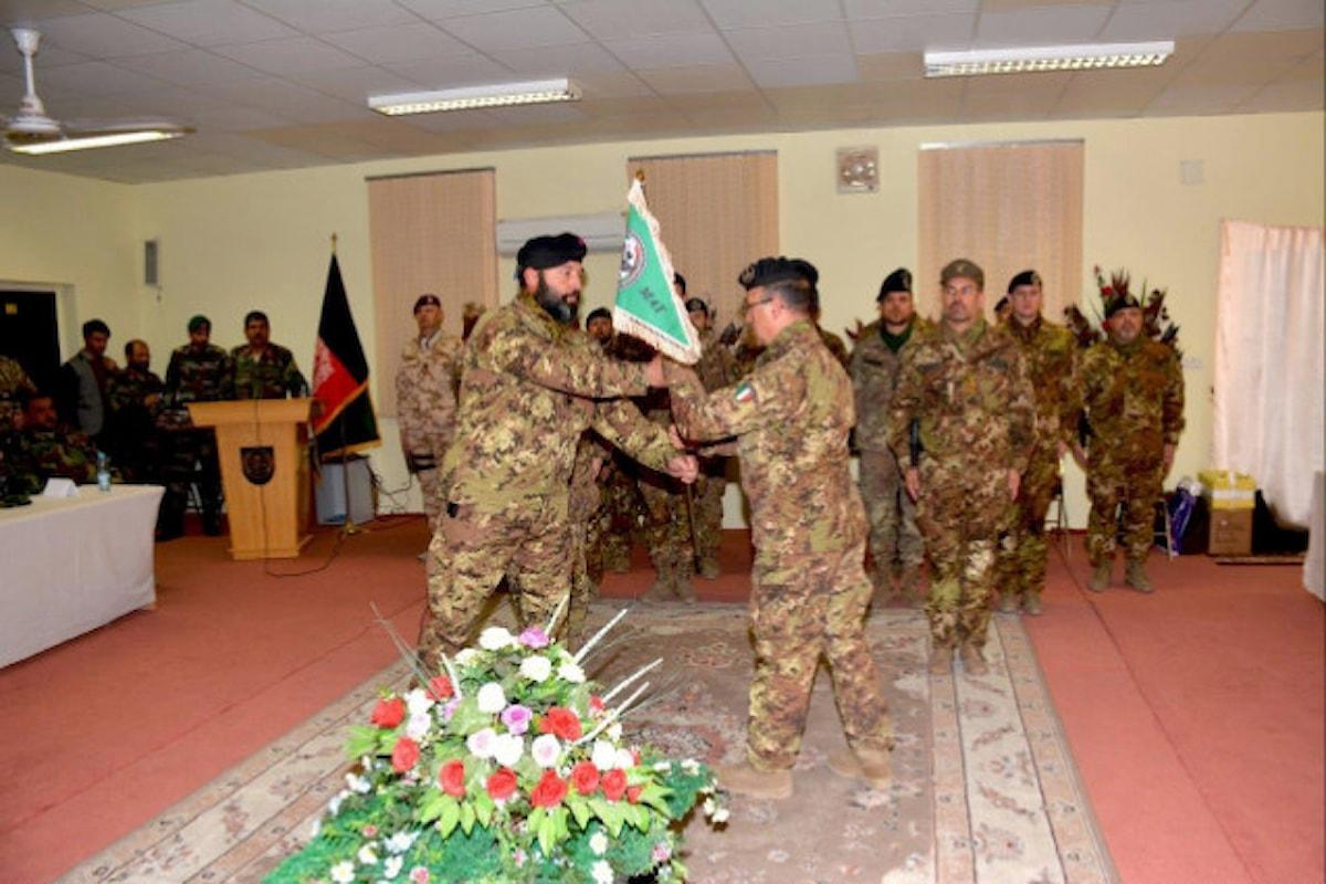 Afghanistan:passaggio di consegne al Military Advisor Team dei militari italiani che supportano esercito afgano