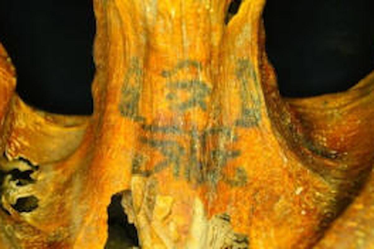 Egitto Antico: scoperta una mummia con trenta tatuaggi religiosi