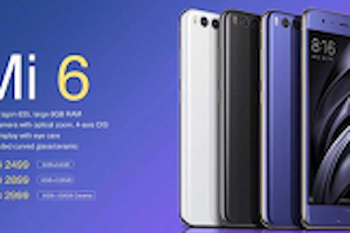 Xiaomi Mi6, un iPhone7 lowcost, stesse caratteristiche ma a metà prezzo!