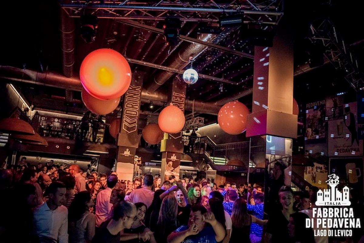 28/10 Luca Garaboni (from Blue Marlin Ibiza), 31/10 Halloween Party, 4/11 Ignorant Party @ Fabbrica di Pedavena - Levico Terme (TN)