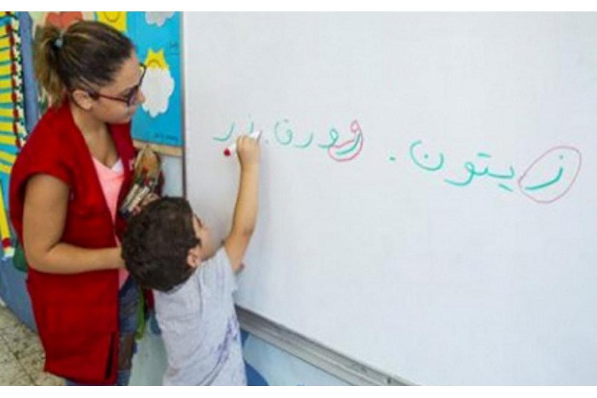 Save the Children, oltre 700mila i bambini rifugiati siriani che non vanno più a scuola