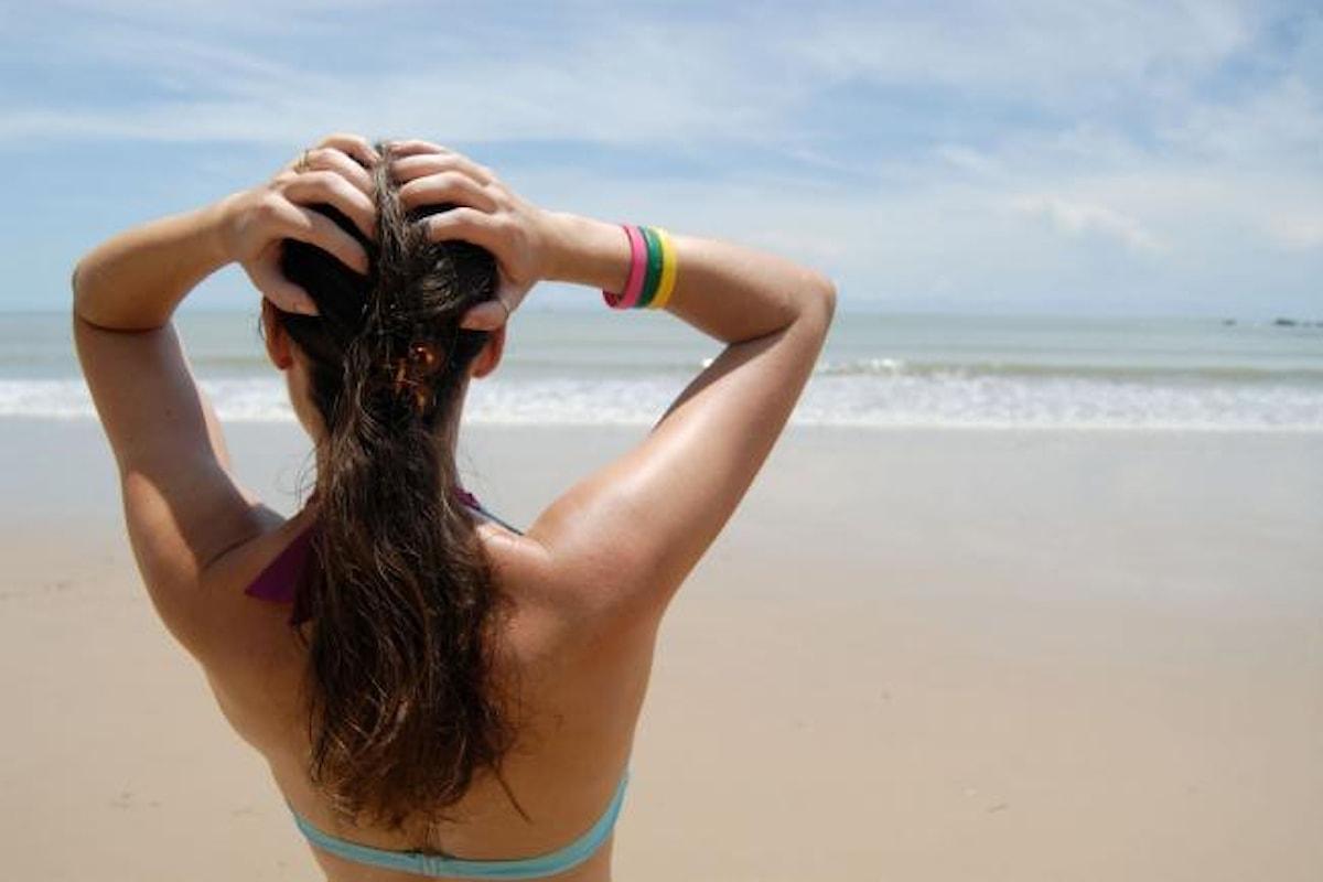 Il sole è nemico dei tuoi capelli