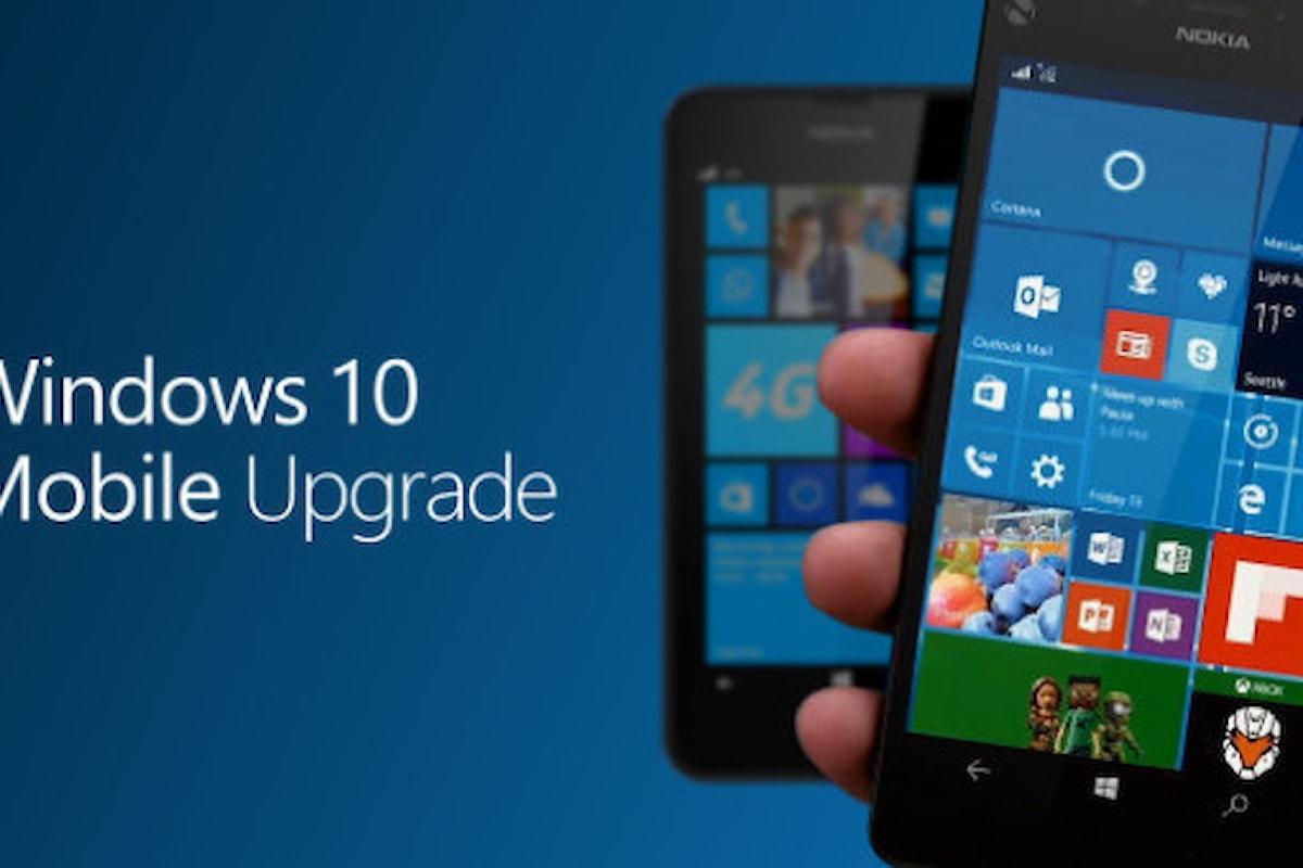 Windows 10 e Windows 10 Mobile si aggiornano alla versione 10586.318!