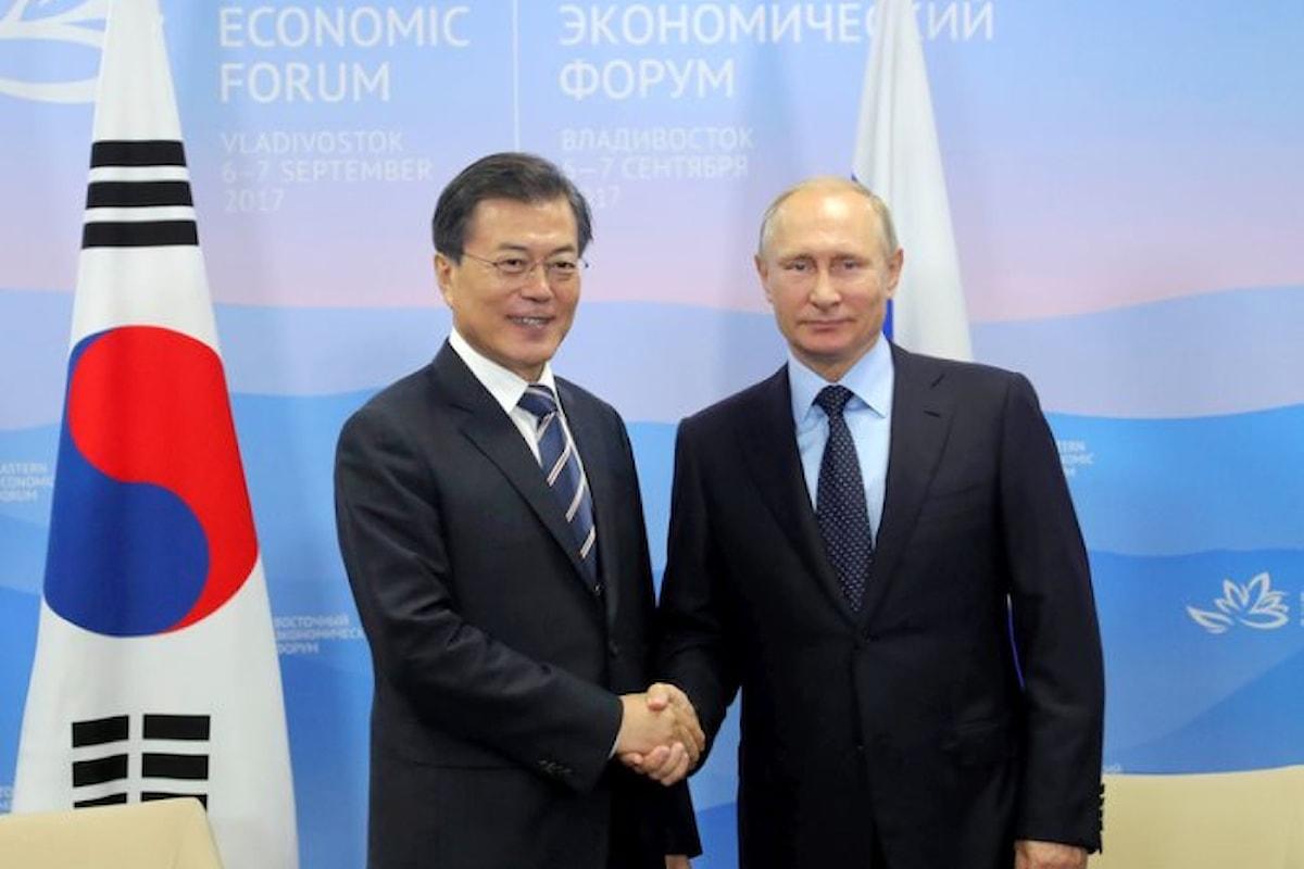 Anche Putin ha qualcosa da dire sulla crisi causata dalla Corea del Nord
