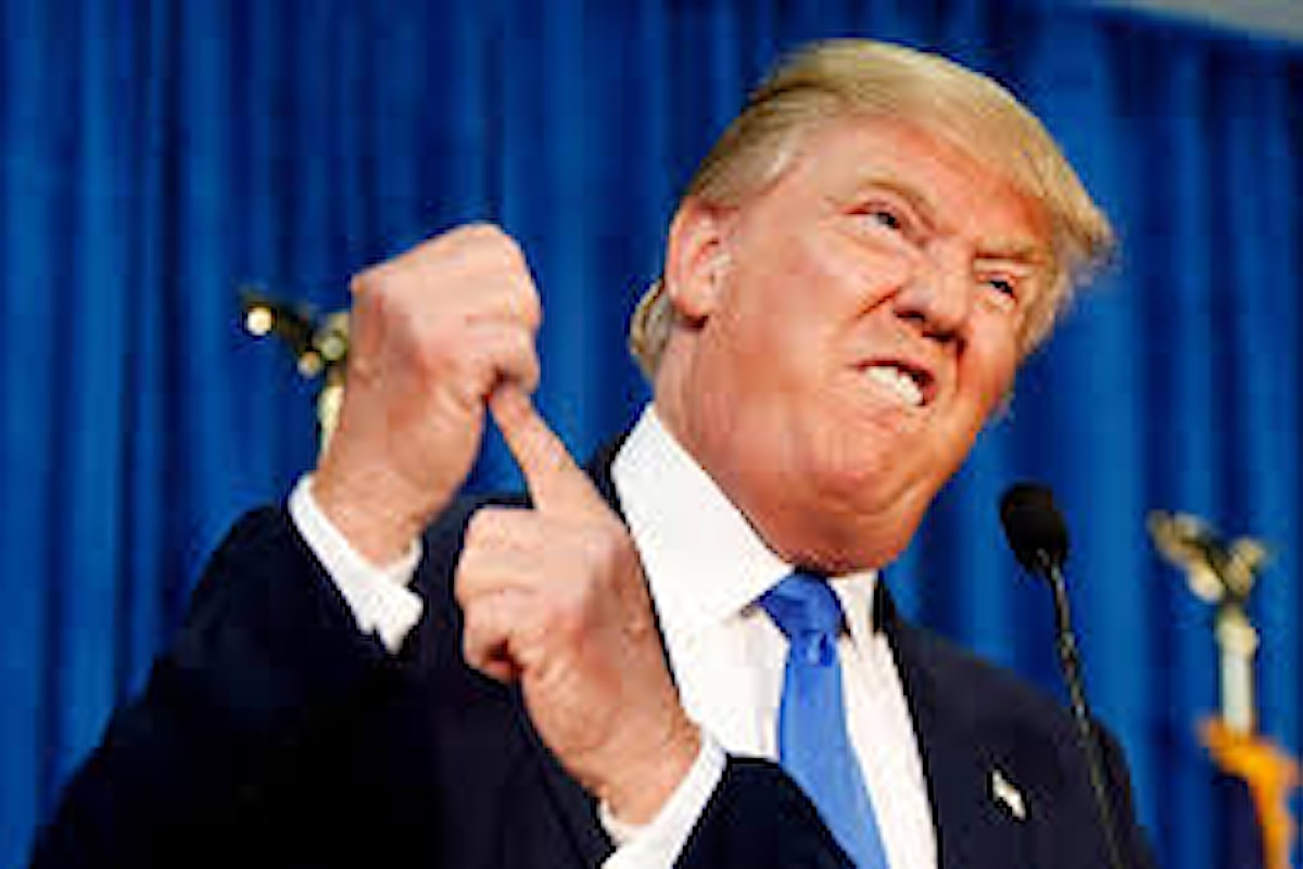 Oramai è ufficiale: Donald Trump spacca. Soprattutto il suo partito