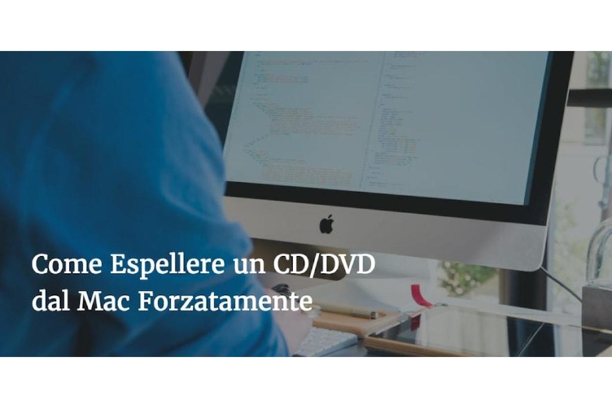 Come Espellere un CD/DVD dal Lettore del Mac Forzatamente