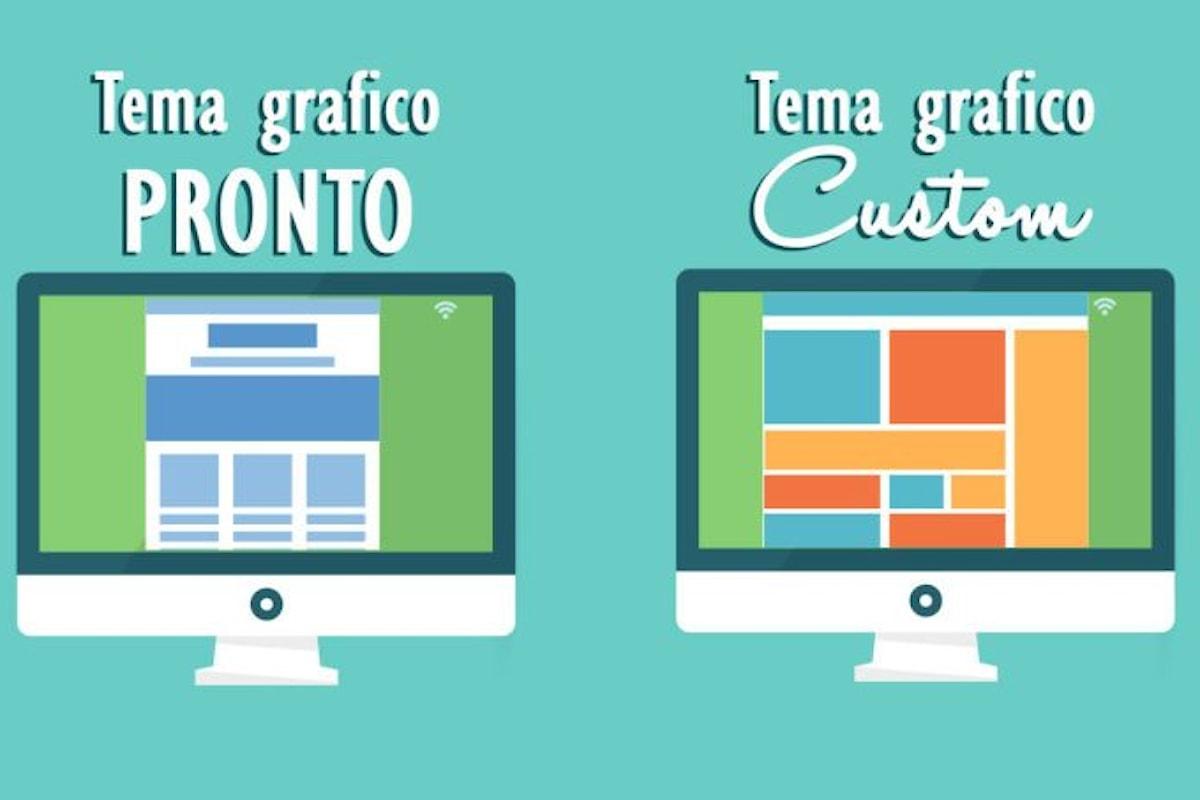 Meglio un Web Design pronto o un Web Design personalizzato?