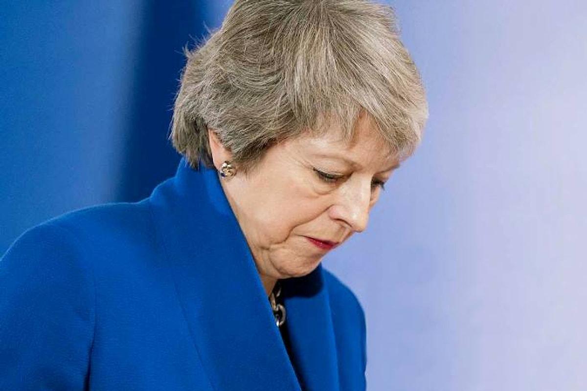 Nel Parlamento britannico è iniziato il dibattito sulla Brexit e la May non ha l'appoggio della maggioranza sull'accordo da lei firmato