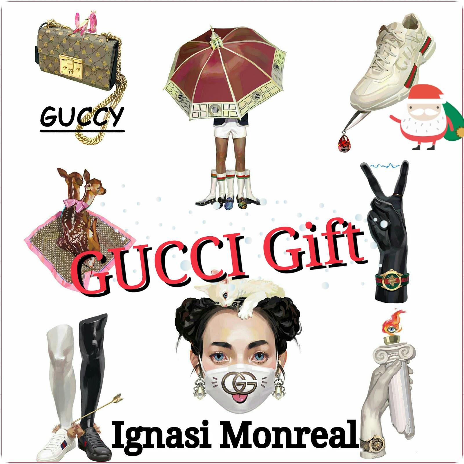 Quest'anno ai regali di Natale ci pensa Gucci! E tu... cosa scegli?