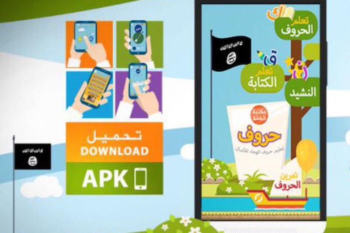 L'Isis crea l'app per insegnare l'alfabeto arabo ai bambini