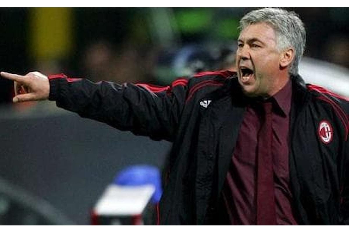 Ancelotti si dimette: probabile approdo in rossonero