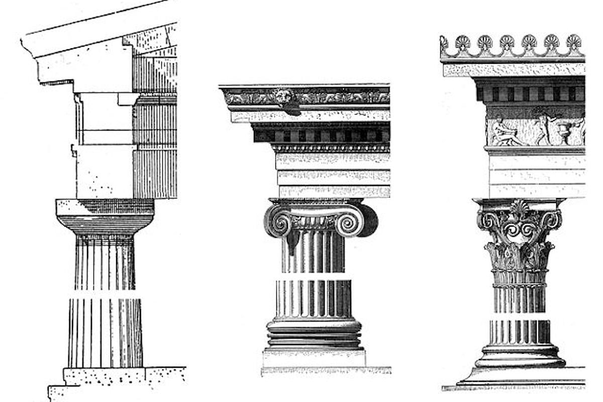 Ordine Ionico e Corinzio nelle colonne greche