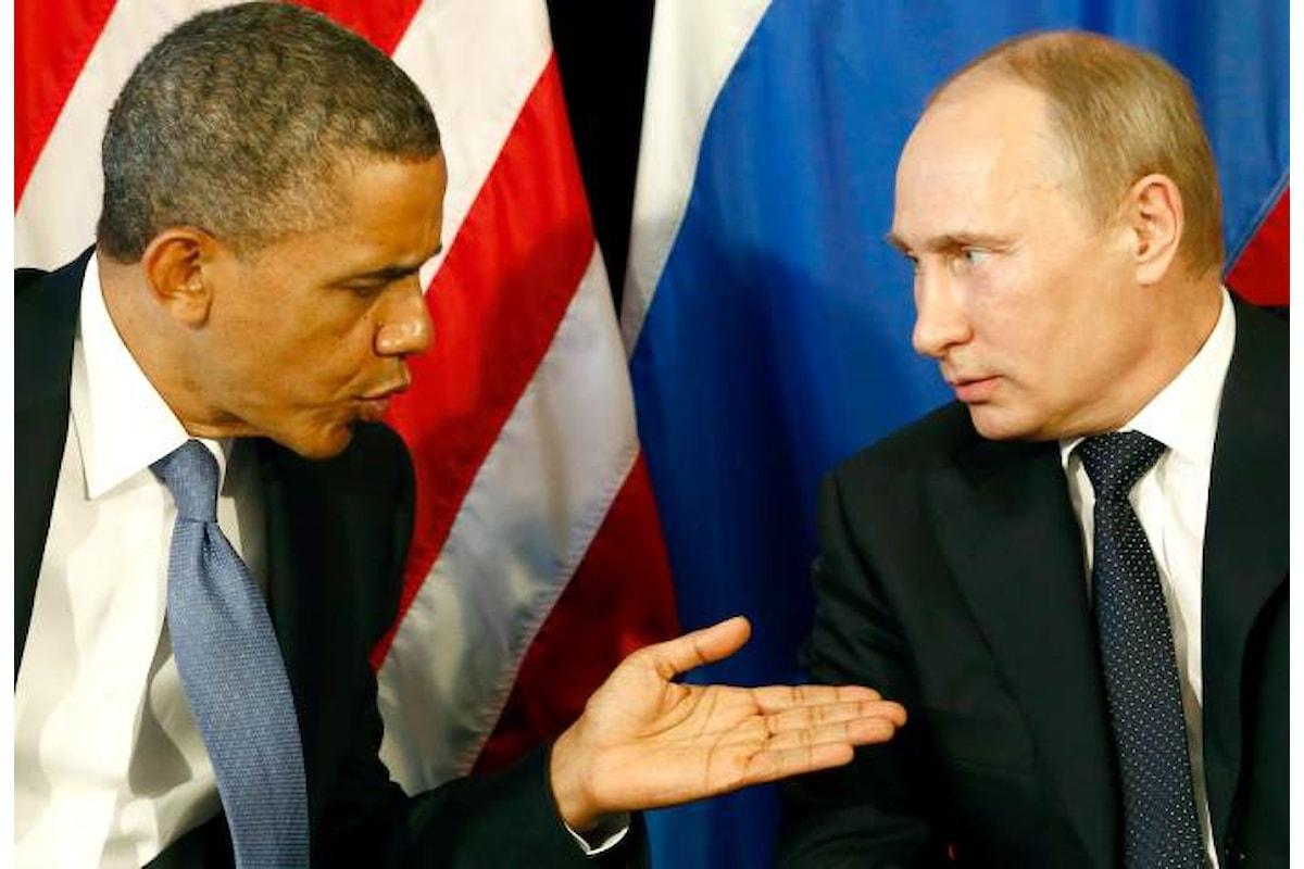 Obama se la prende con Putin per aver fatto conoscere la verità sulla Clinton