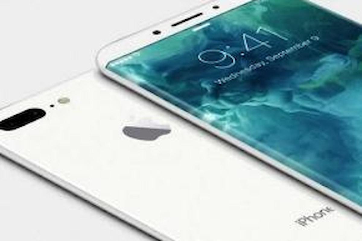 L'iPhone 8 non avrà uno schermo curvo