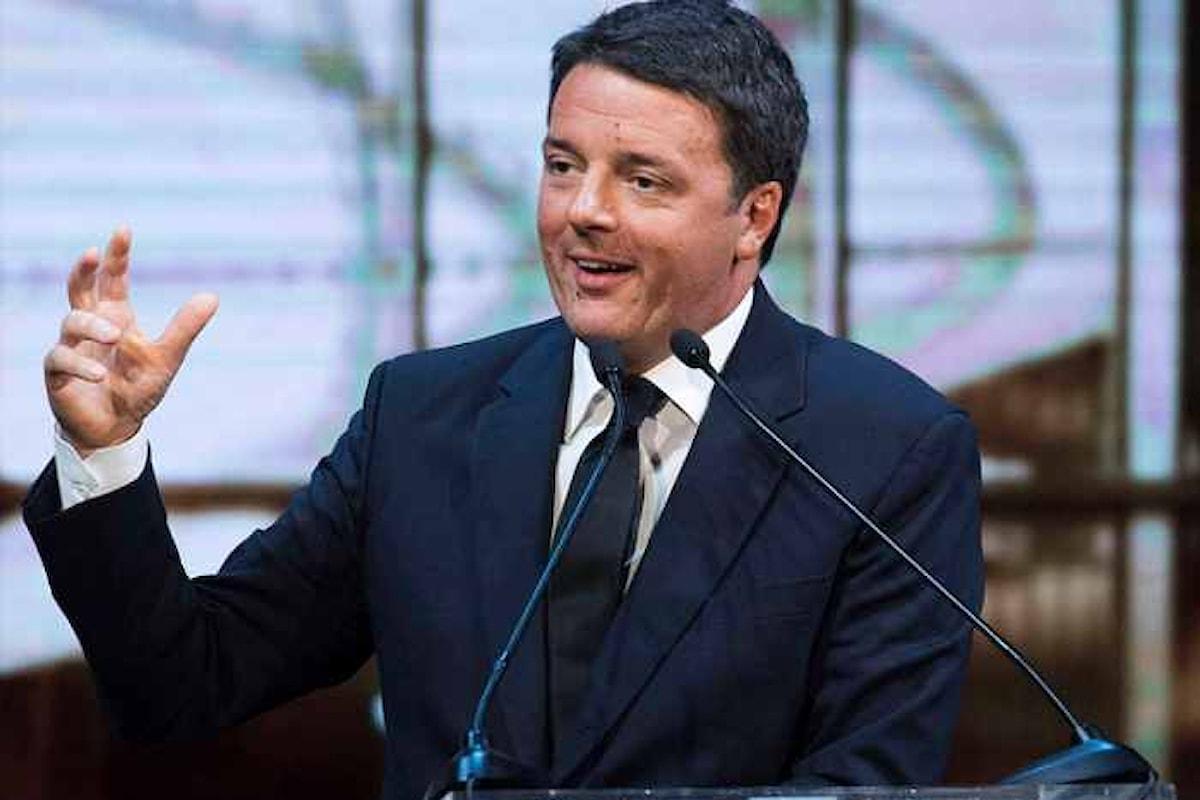 Renzi lancia la sua campagna per il Congresso