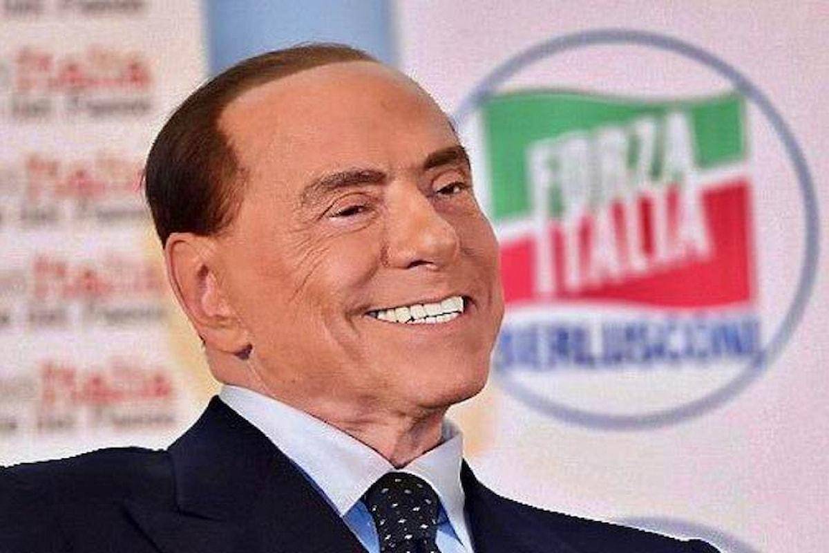Ancora Berlusconi nel simbolo di Forza Italia alle politiche 2018