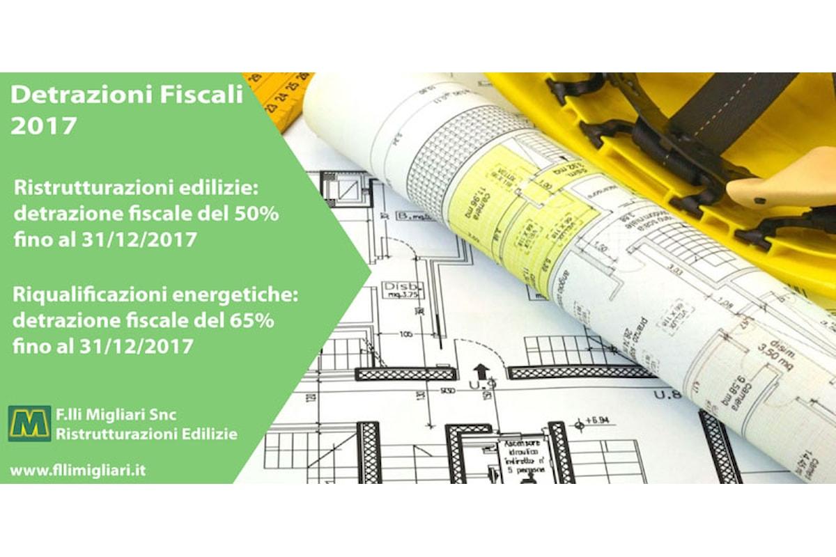 Avanti anche nel 2017 con le detrazioni fiscali per le ristrutturazioni edilzie e le riqualificazioni energetiche