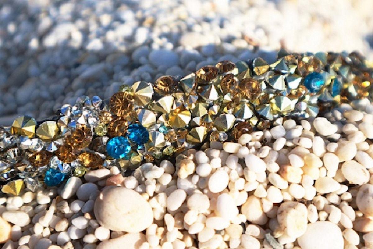 Glittering charm per le nuove cinture gioiello di Eles Italia