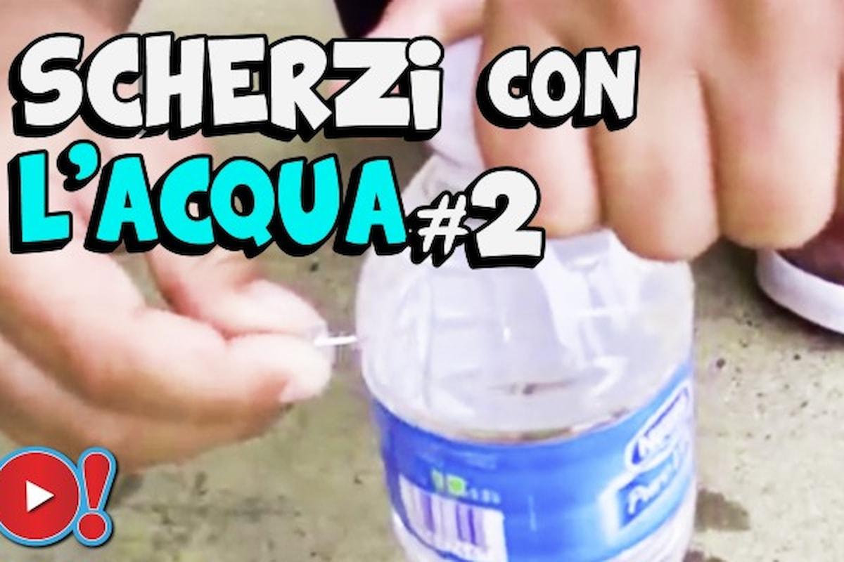 5 Scherzi con l'acqua da fare agli amici senza spendere un centesimo!