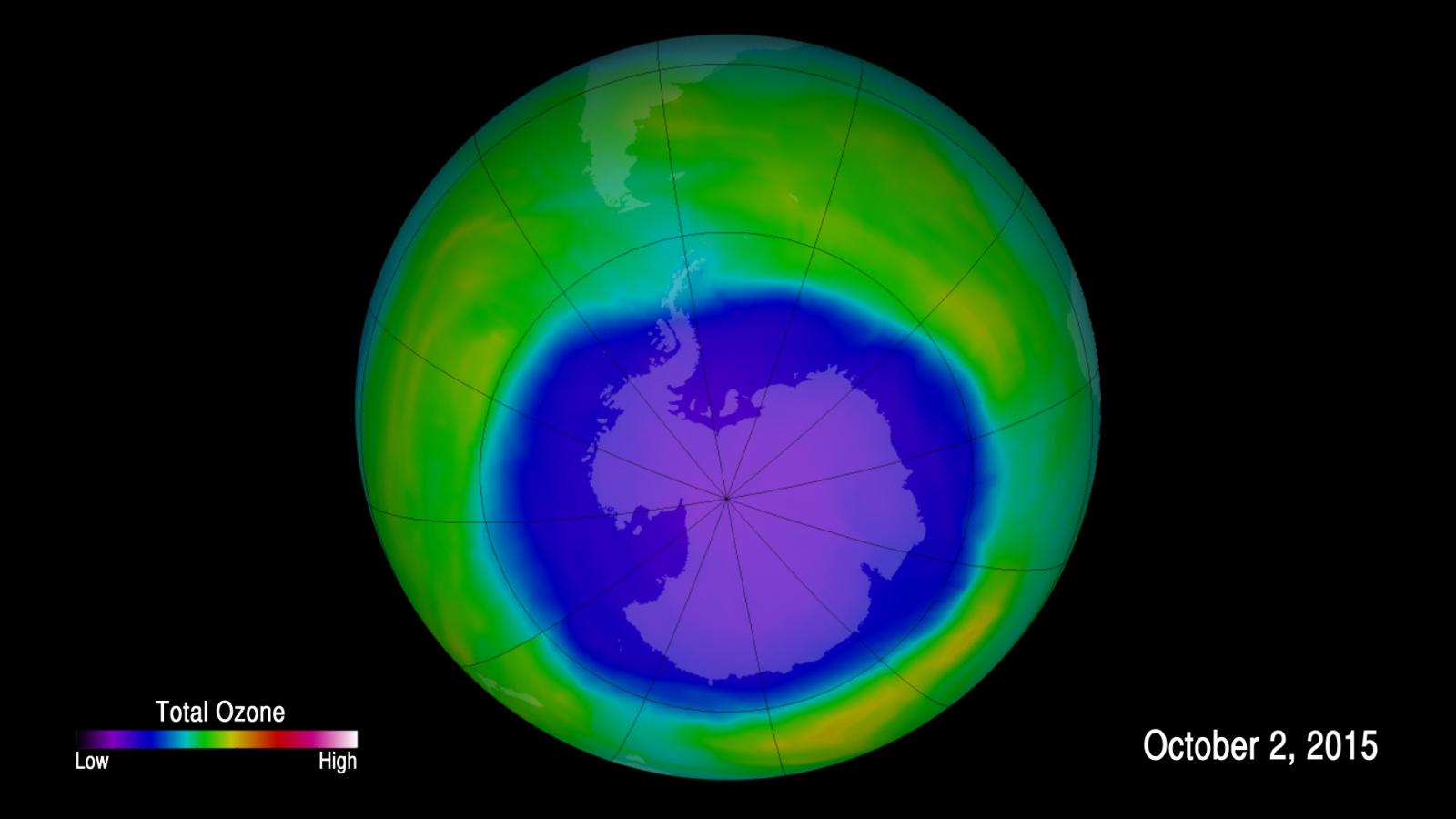 Buco dell'Ozono si chiude