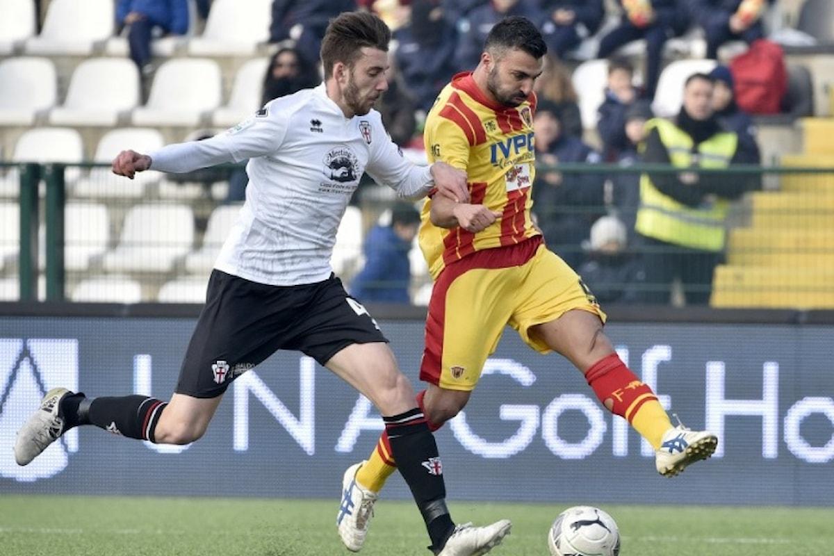 Il Benevento si prende il secondo posto in serie B