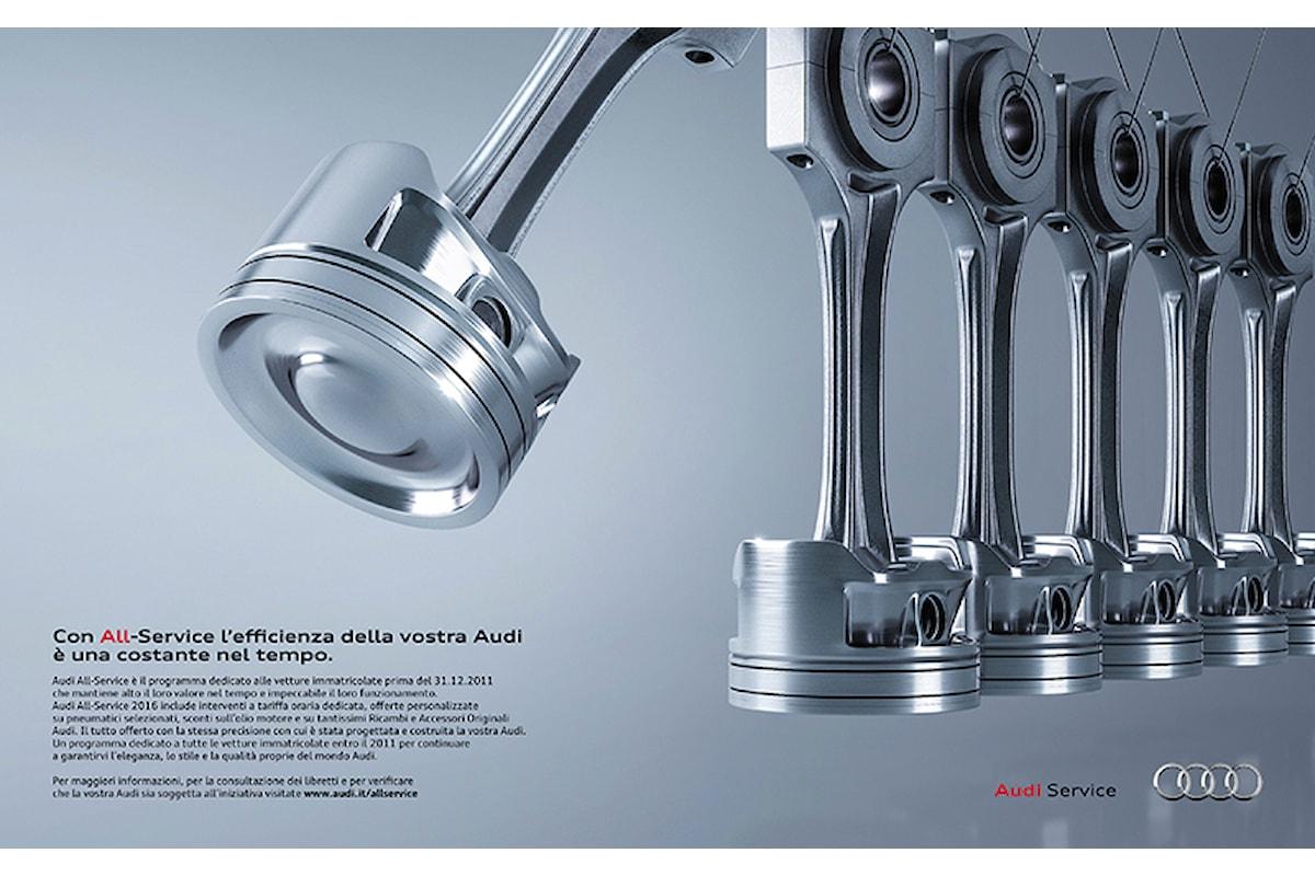 Pubblicità Audi All-Service
